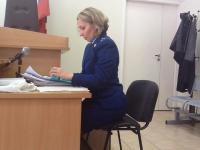 Staatsanwältin am 1. Tag der Hauptverhandlung